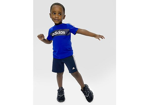 Comprar Ropa deportiva para niños online adidas Linear Essential T-Shirt/Shorts Set Infant