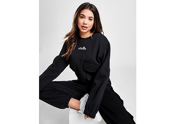 Ropa deportiva Mujer Ellesse Cargo Pocket Crew Sweatshirt