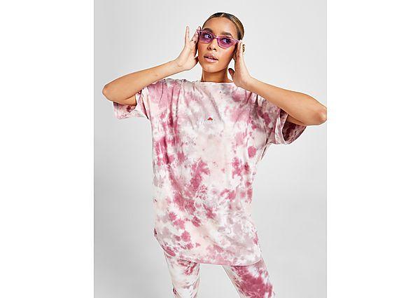 Ropa deportiva Mujer Ellesse camiseta Tie Dye Boyfriend