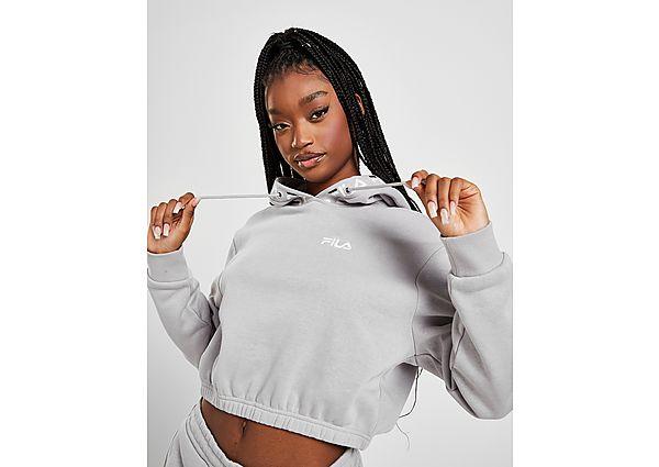 Ropa deportiva Mujer Fila Crop Repeat Logo Hoodie