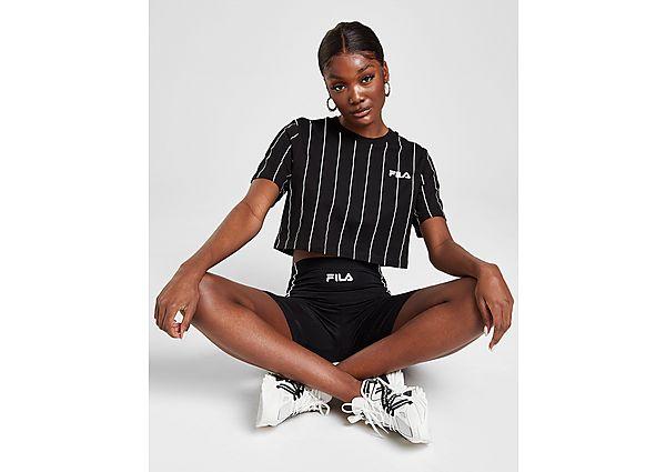 Ropa deportiva Mujer Fila Stripe Crop T-Shirt