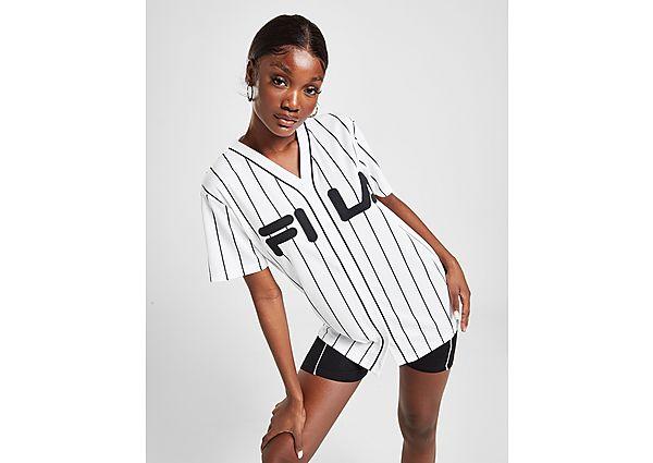 Ropa deportiva Mujer Fila Stripe Baseball Logo T-Shirt