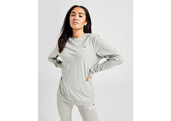 Ropa deportiva Mujer Ellesse Core Long Sleeve Boyfriend T-Shirt
