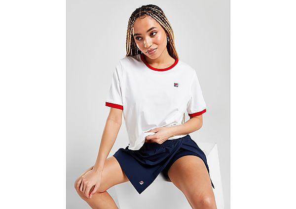Ropa deportiva Mujer Fila camiseta Small Logo Ringer