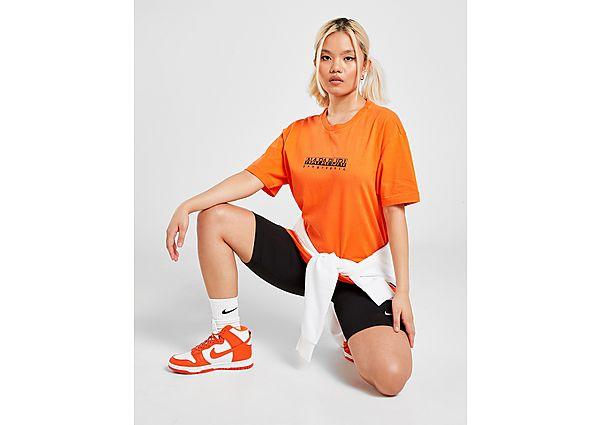 Ropa deportiva Mujer Napapijri camiseta Box Boyfriend