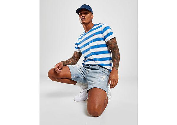Levis Rip Denim Shorts