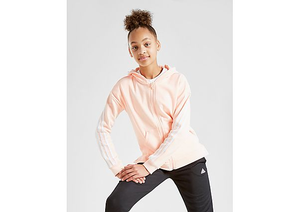 Adidas Girls' 3-Stripes Full Zip Hoodie Junior - Kind