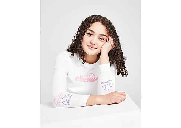 Comprar Ropa deportiva para niños online Ellesse camiseta Crop de manga larga Brin júnior