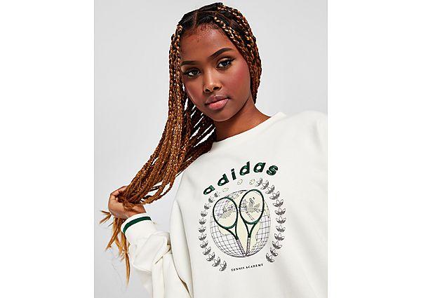 Ropa deportiva Mujer adidas Originals sudadera Tennis Boyfriend