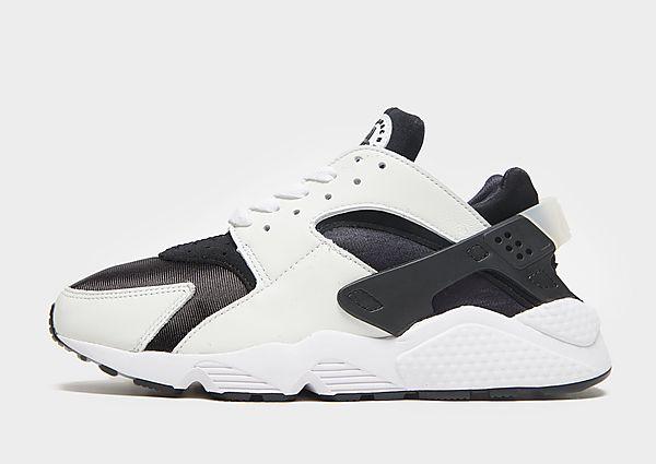 Nike Nike Air Huarache Zapatillas - Hombre, Black/Black/White