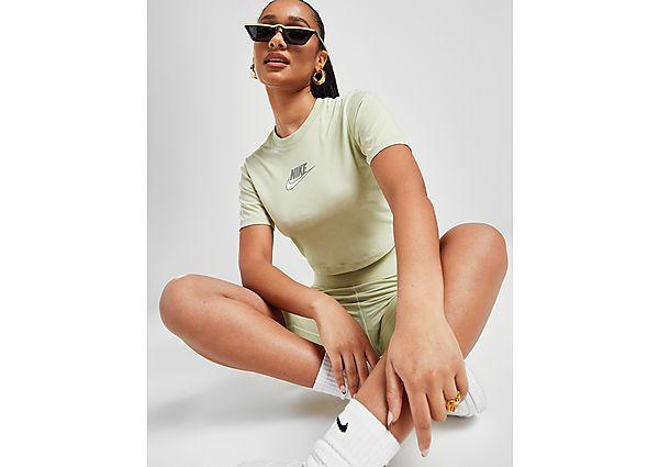 Ropa deportiva Mujer Nike camiseta crop Double Futura Slim