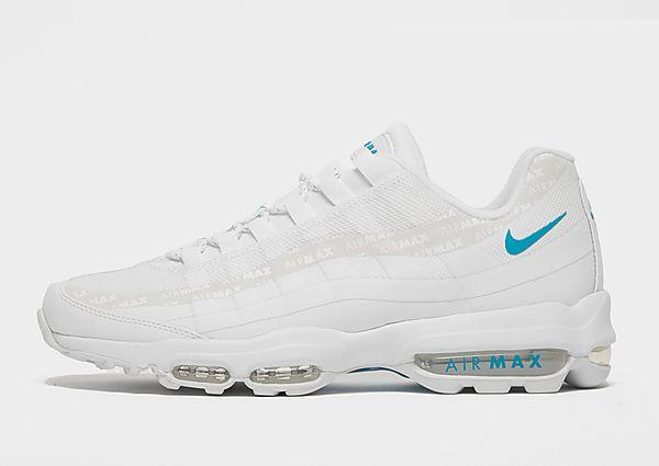 Nike Air Max 95 Ultra SE, White/Metallic Silver/Particle Grey/Laser Blue