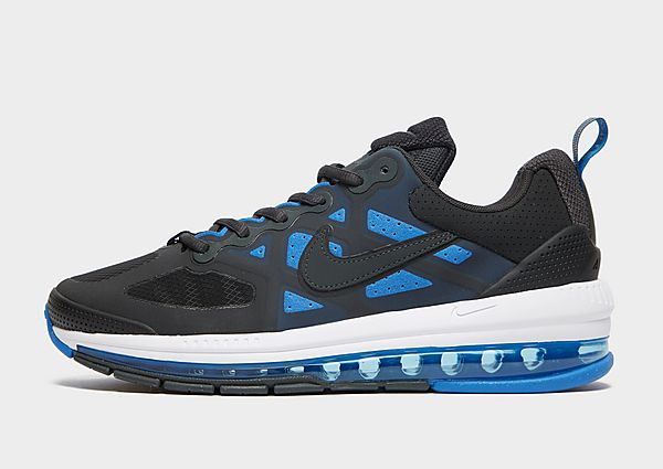 Nike Air Max Genome, Black/Dark Smoke Grey/White/Signal Blue