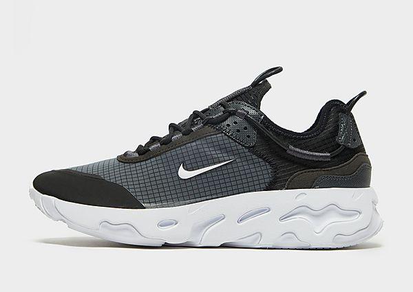 Nike Nike React Live Zapatillas - Hombre, Black/Dark Smoke Grey/White