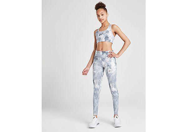 Comprar Ropa deportiva para niños online Nike sujetador deportivo Fitness All Over Print júnior