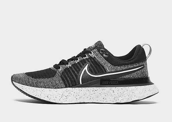 Nike React Infinity Run Flyknit 2, White/Black