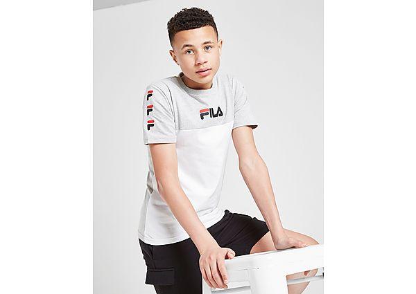 Comprar Ropa deportiva para niños online Fila camiseta Repeat F Colour Block júnior