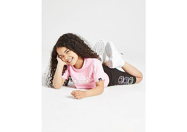 Comprar Ropa deportiva para niños online Ellesse conjunto camiseta/mallas cortas Virina infantil