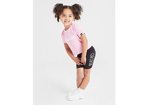 Comprar Ropa deportiva para niños online Ellesse Girls' Virna T-Shirt/Cycle Shorts Set Infant