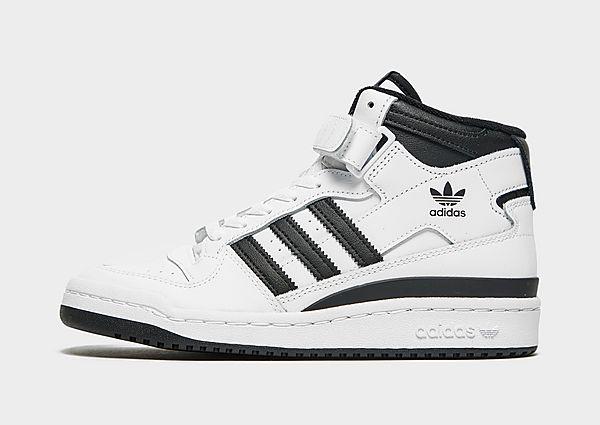 Adidas Originals Forum Mid Schoenen - Cloud White / Core Black / Cloud White - Kind
