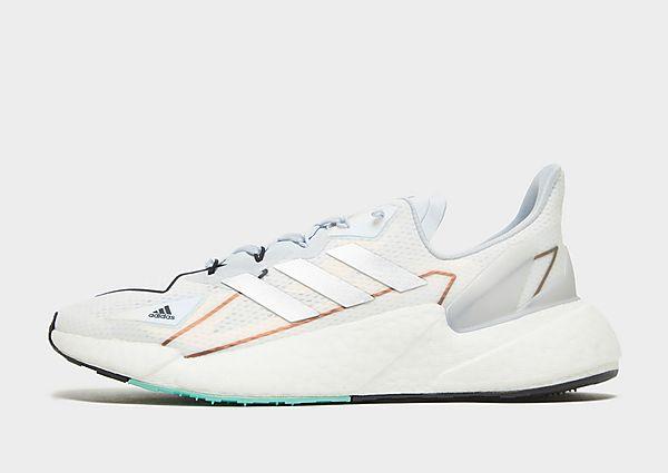 Adidas Zapatilla X9000L4 HEAT.RDY, Cloud White / Silver Metallic / Halo Blue