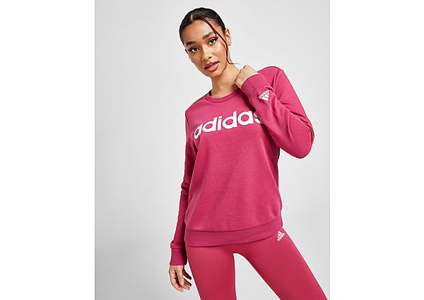 Ropa deportiva Mujer adidas Core Linear Crew Sweatshirt