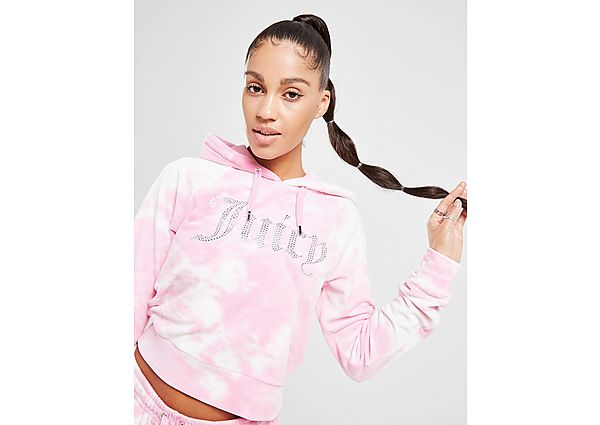 Ropa deportiva Mujer JUICY COUTURE sudadera con capucha Tie Dye Velour