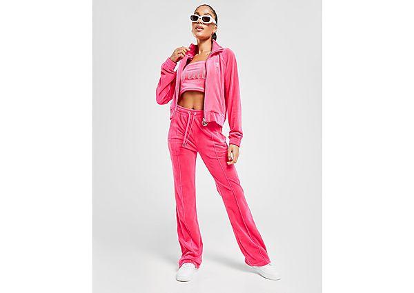 Juicy Couture Diamante Velour Track Pants - Dames