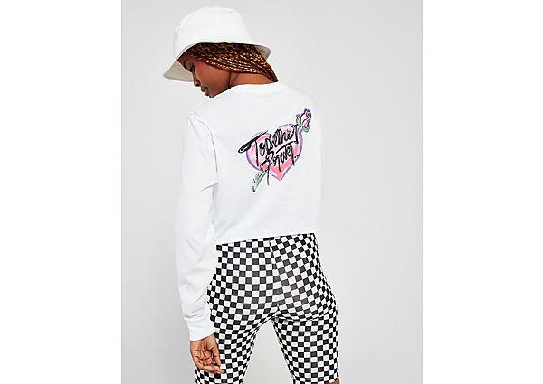 Ropa deportiva Mujer Vans camiseta crop de manga larga Heart