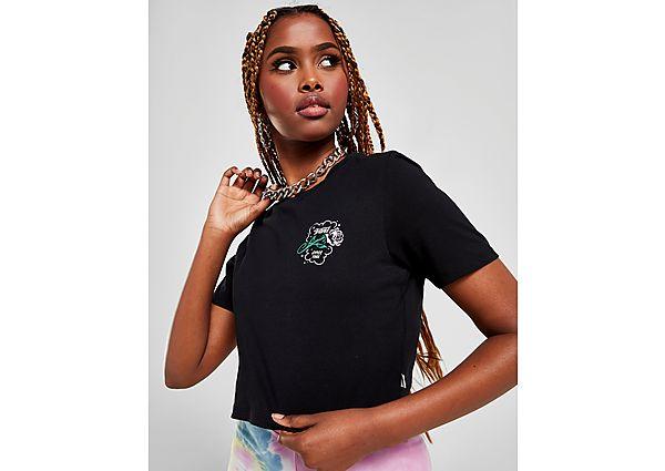 Ropa deportiva Mujer Vans camiseta crop Petal Fitted