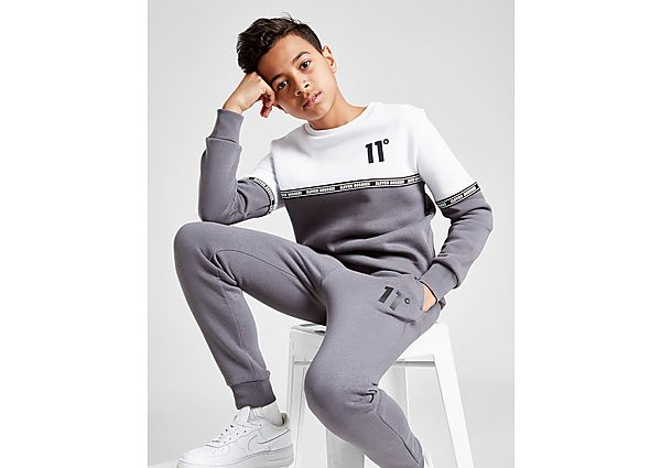 Comprar deportivas 11 Degrees Cut & Sew Tape Crew Sweatshirt Junior