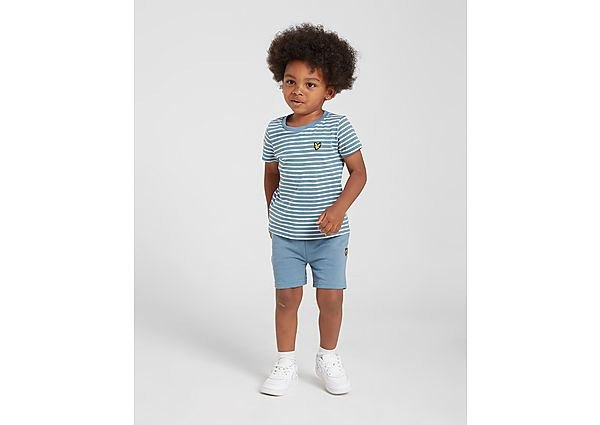 Lyle & Scott Stripe T-Shirt/Shorts Set Infant - Kind