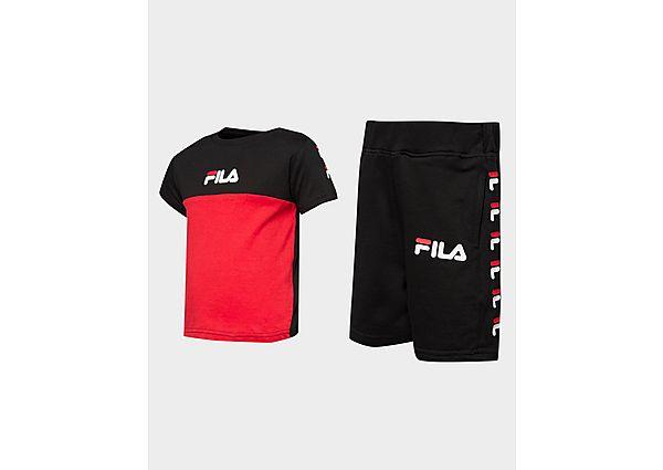 Comprar Ropa deportiva para niños online Fila conjunto camiseta/pantalón corto Repeat Logo para bebés