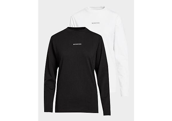 Ropa deportiva Mujer McKenzie pack de 2 camisetas de manga larga