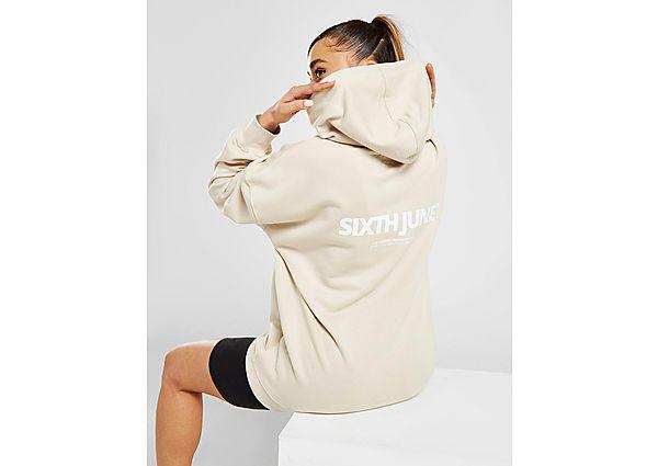 Ropa deportiva Mujer Sixth June sudadera con capucha Logo