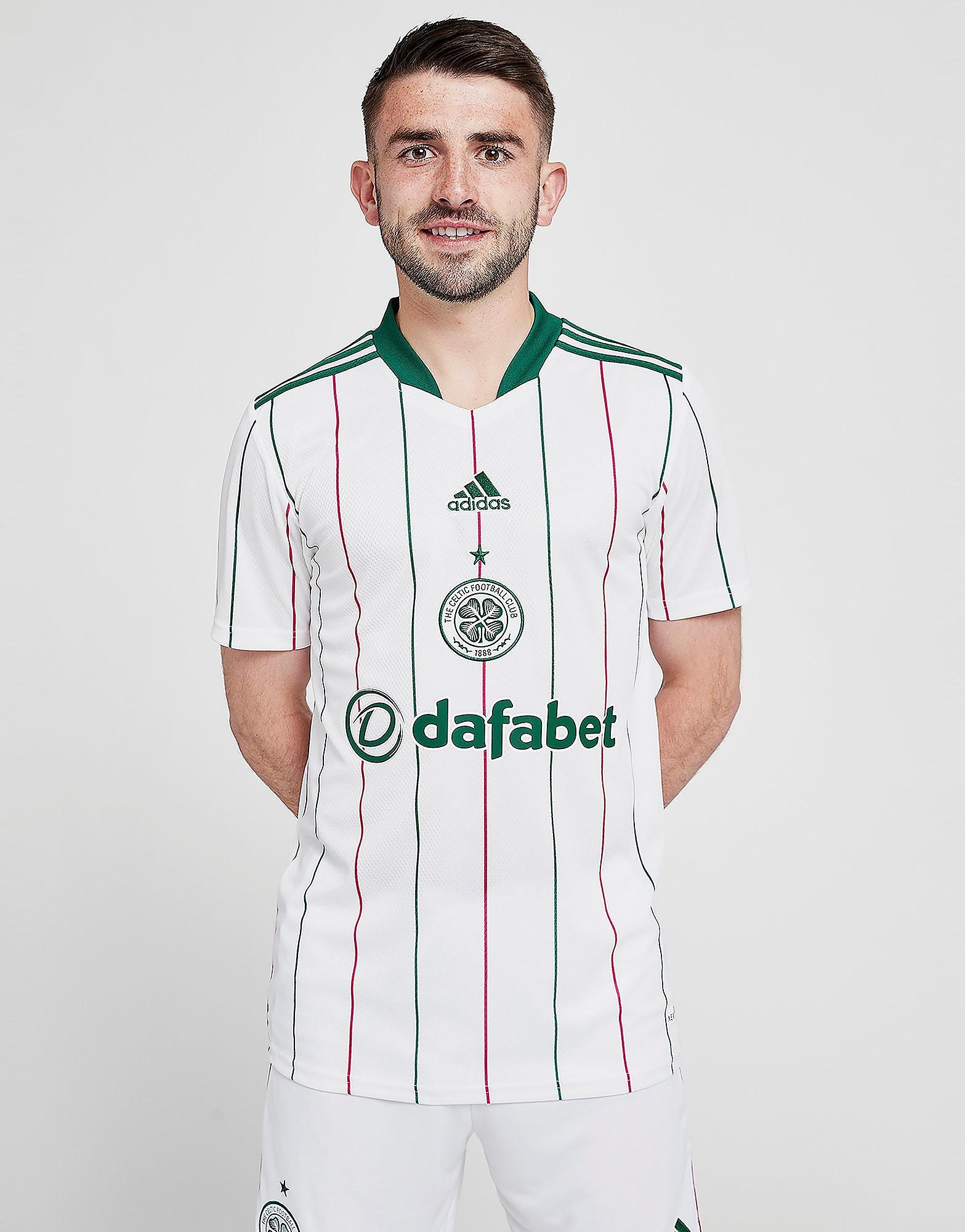 adidas Celtic FC 2021/22 Tredjetröja Herr FÖRBESTÄLLNING, Vit