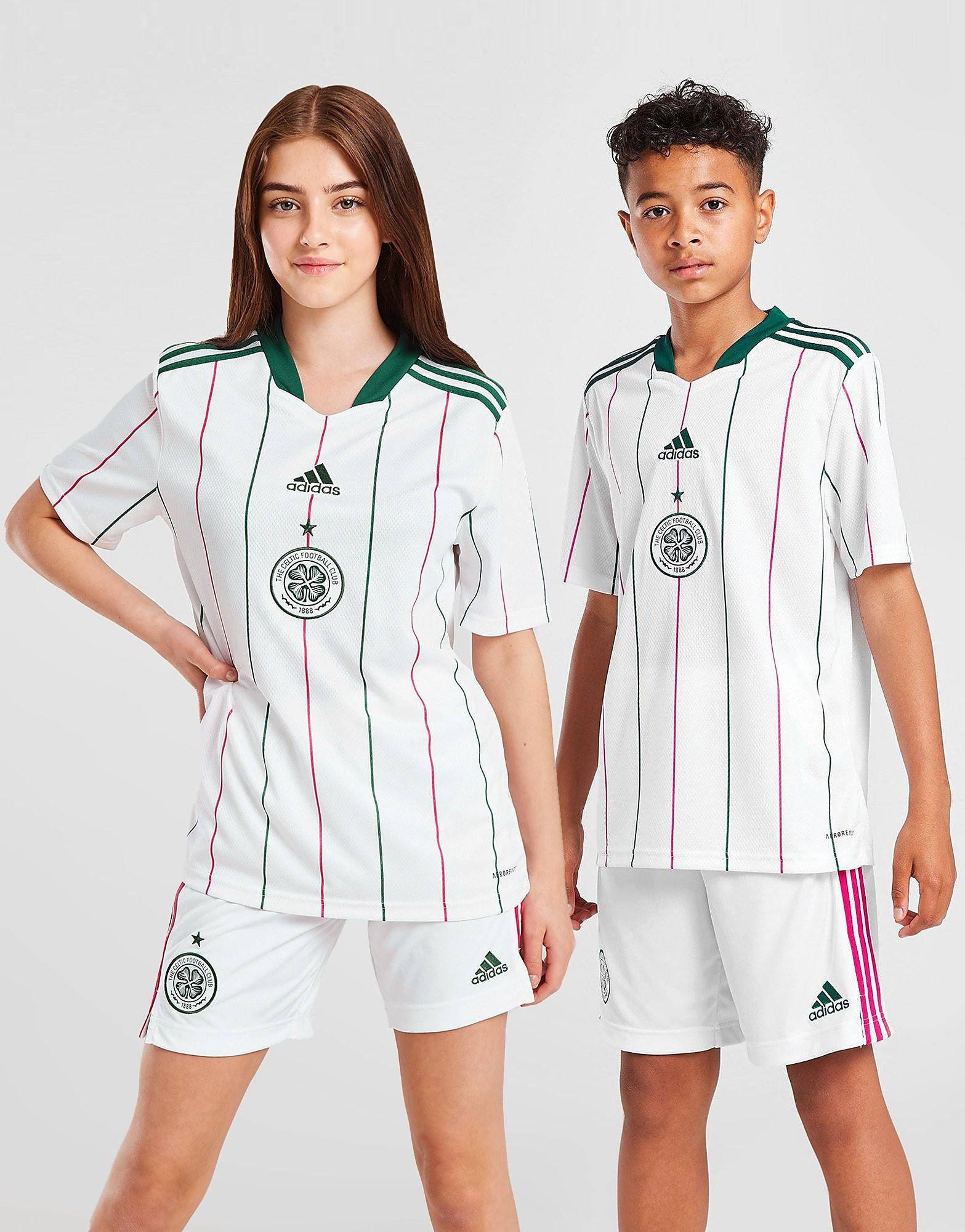 adidas Celtic FC 2021/22 Tredjetröja Junior FÖRBESTÄLLNING, Vit