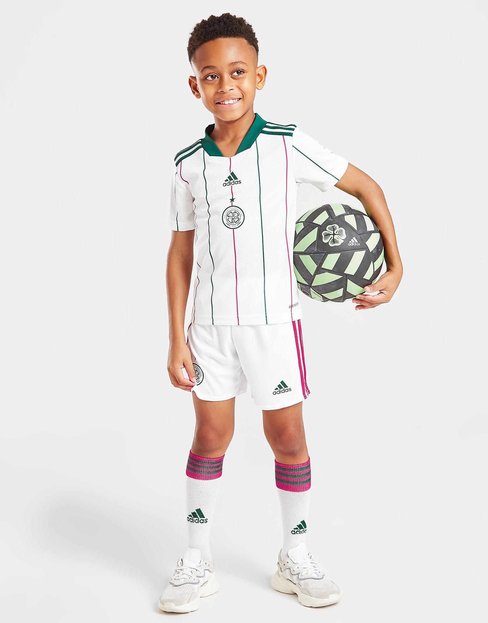 adidas Celtic FC 2021/22 Tredjeset Barn FÖRBESTÄLLNING, Vit