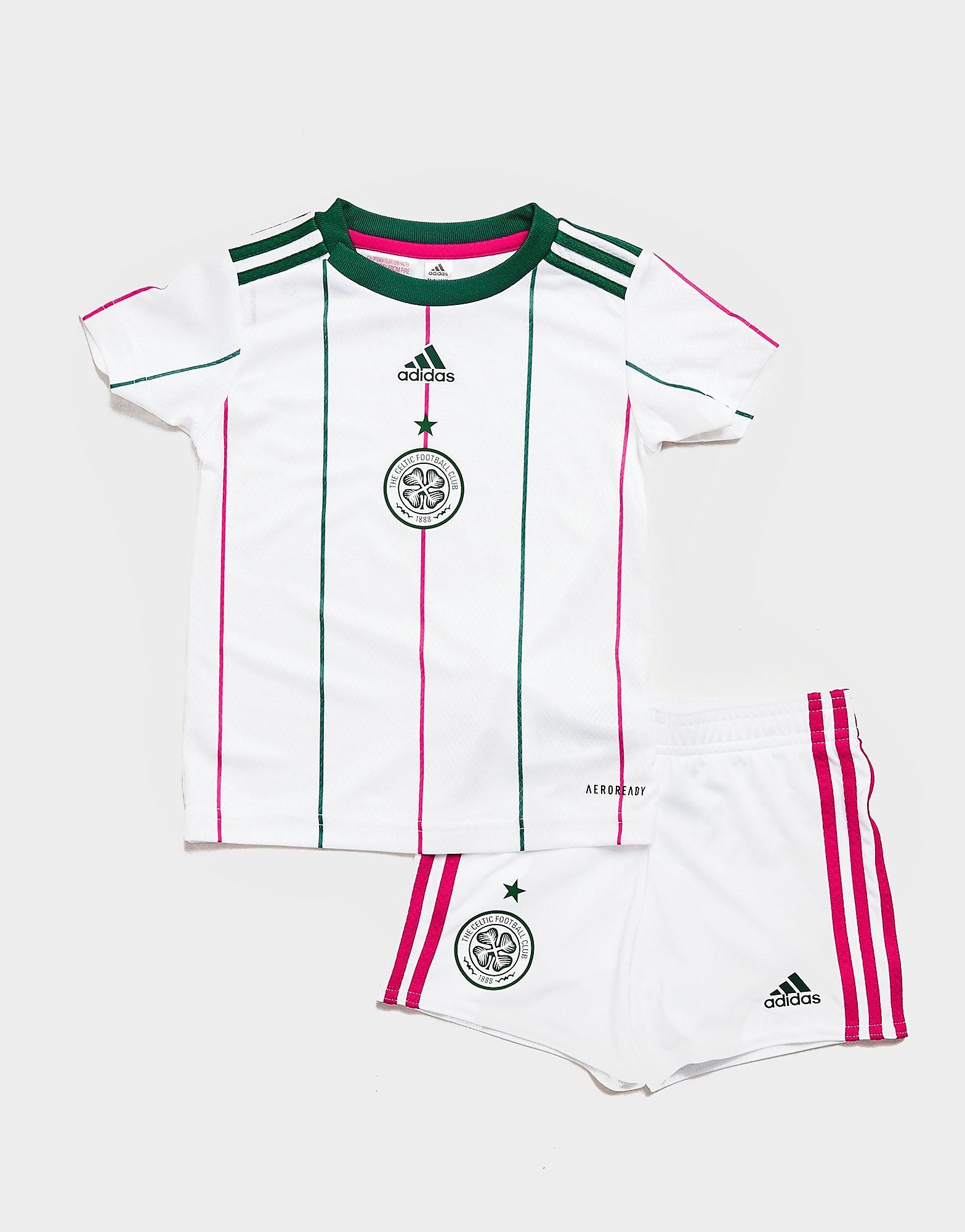 adidas Celtic FC 2021/22 Tredjeset Baby FÖRBESTÄLLNING, Vit