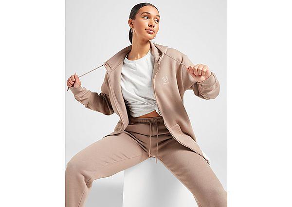 Ropa deportiva Mujer Pink Soda Sport chaqueta de chándal Essentials Oversized