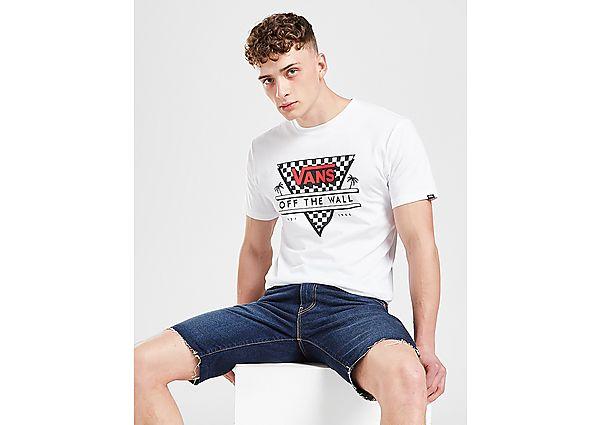 Vans camiseta Triangle Checkerboard