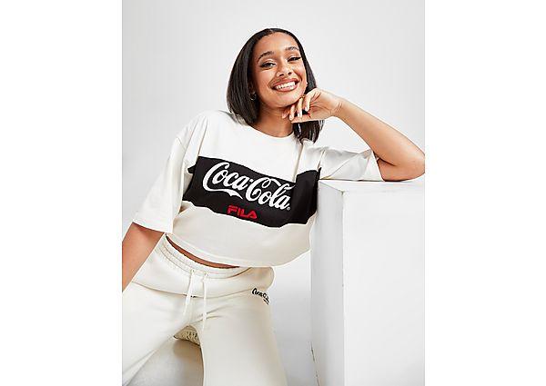 Ropa deportiva Mujer Fila x Coca-Cola camiseta Crop Panel Logo