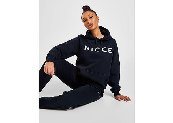 Ropa deportiva Mujer Nicce sudadera con capucha Embroidered Logo Boyfriend