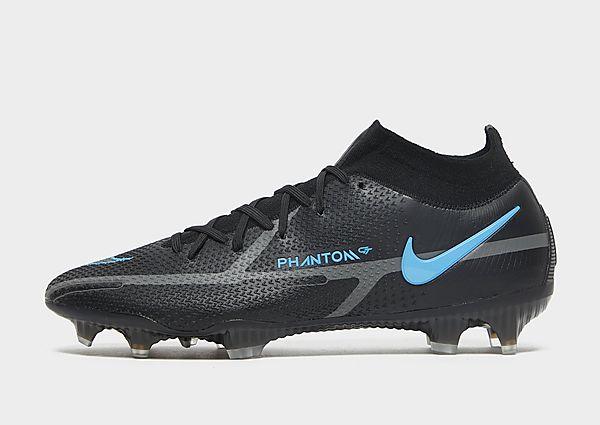 Nike Black x Prism Phantom GT2 Elite Dynamic Fit FG, Black/Iron Grey/Black