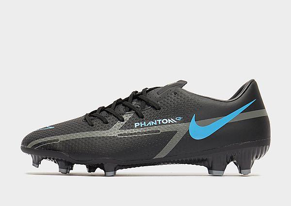Nike Nike Phantom GT2 Academy MG Botas de fútbol multisuperficie, Black/Iron Grey/Black