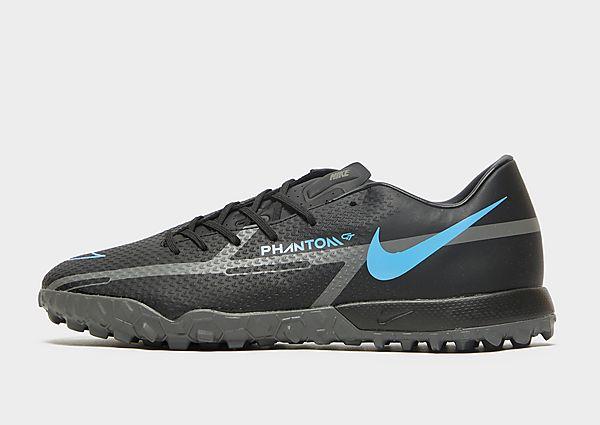 Nike Nike Phantom GT2 Academy TF Botas de fútbol para moqueta - Turf, Black/Iron Grey/Black