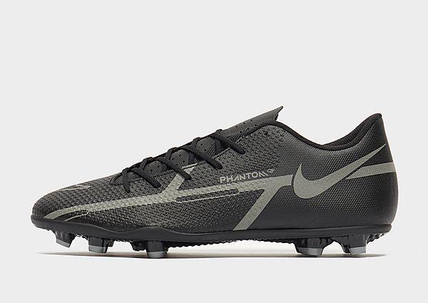 Nike Nike Phantom GT2 Club MG Botas de fútbol multisuperficie, Black/Metallic Bomber Grey/Iron Grey