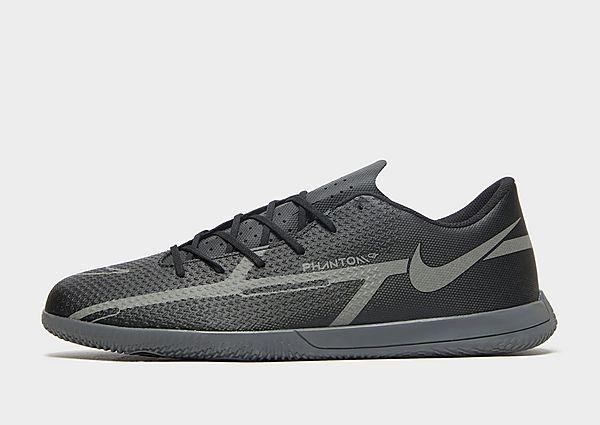 Nike Nike Phantom GT2 Club IC Botas de fútbol sala, Black/Metallic Bomber Grey/Iron Grey