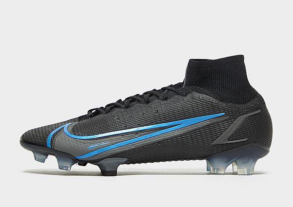 Nike Nike Mercurial Superfly 8 Elite FG Botas de fútbol para terreno firme, Black