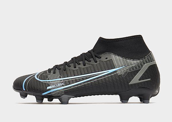 Nike Nike Mercurial Superfly 8 Academy MG Botas de fútbol para múltiples superficies, Black/Iron Grey/Black